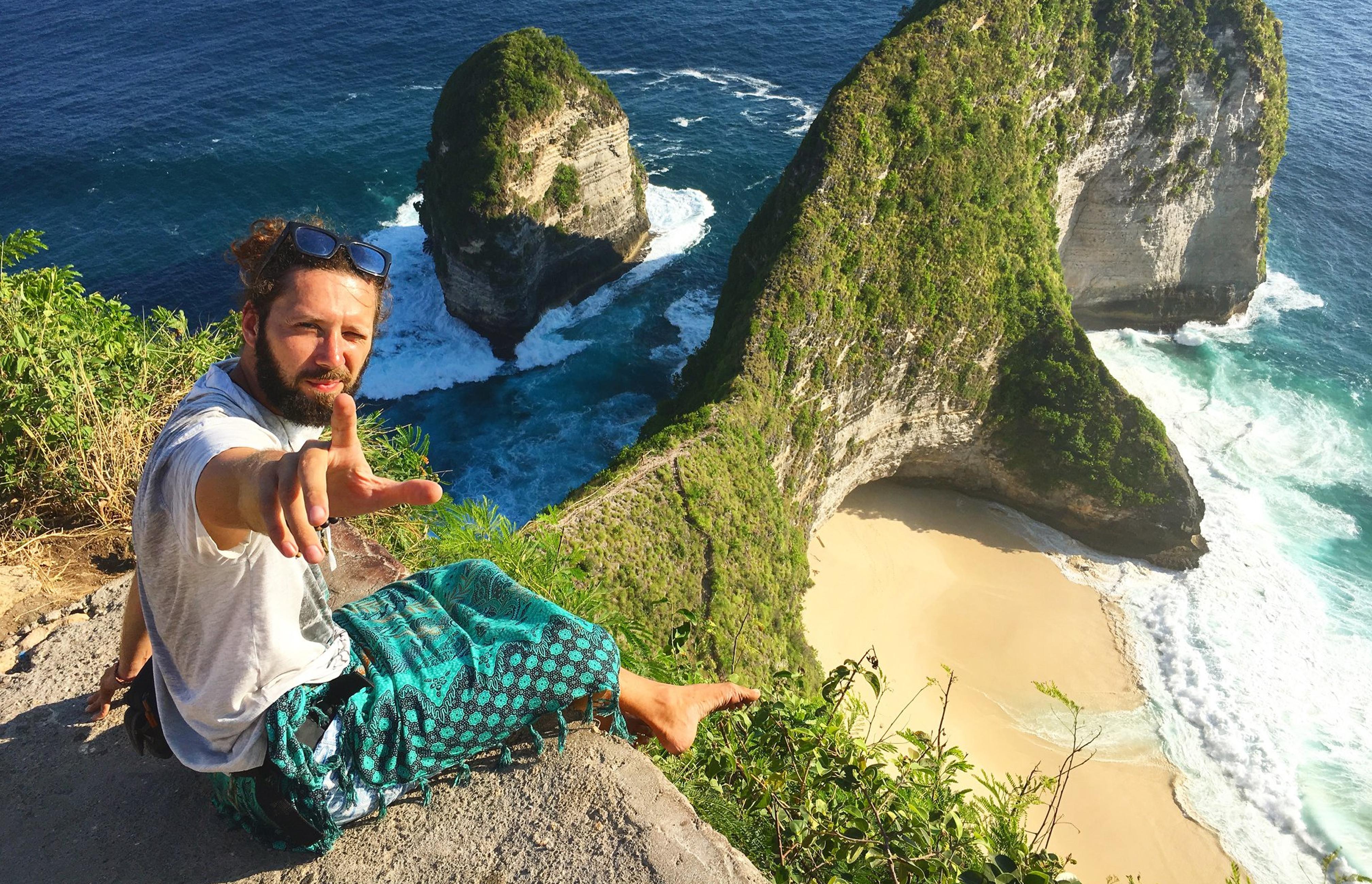 Indonesia, Nusa Penida, kelingking , beach, ocean, cliff, Индонезия, Нуса Пенида, келингки, океан, утес