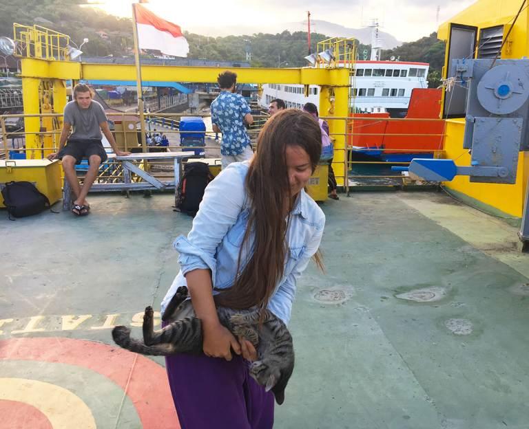 Indonesia, Nusa Penida, ferry, boat, Индонезия, Нуса Пенида, паром, паромная переправа