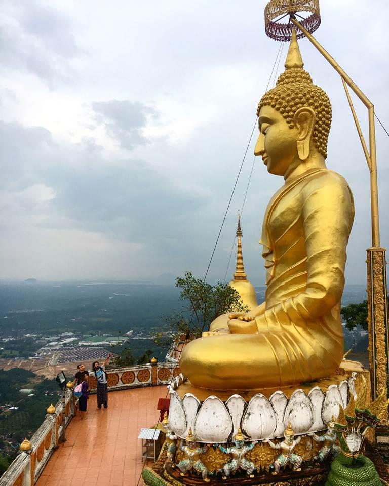 Tiger Cave Temple, statue, Krabi, Храм Пещера Тигра, статуя, Краби