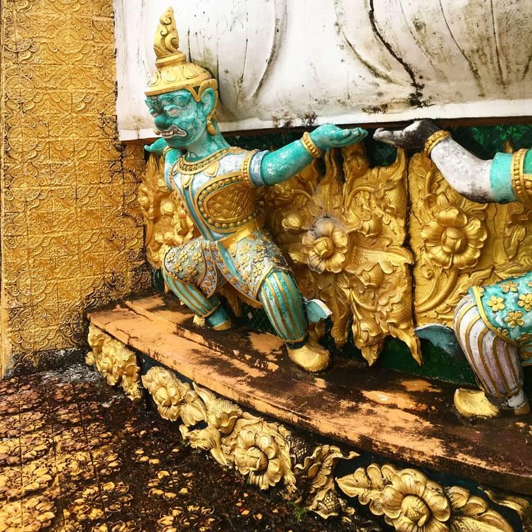 Tiger Cave Temple, statue, Храм Пещера Тигра, статуя, Краби