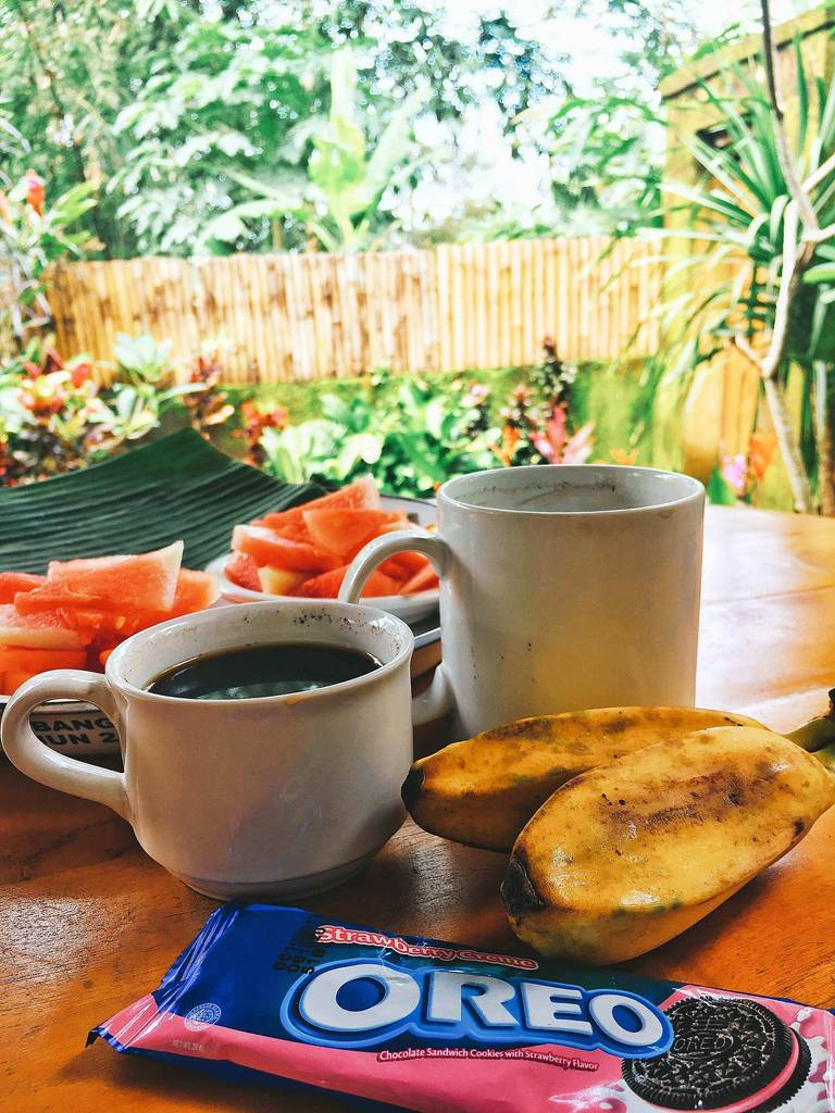Indonesia, Bali, coffee, bananas