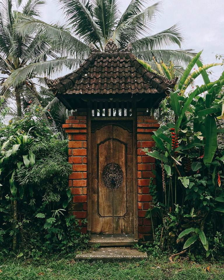 Indonesia, Bali, Ubud, Индонезия, Бали, Убуд, doors, двери