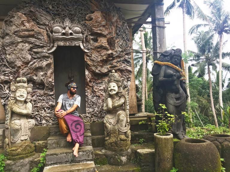Indonesia, Bali, Ubud, Индонезия, Бали, Убуд, двери, doors
